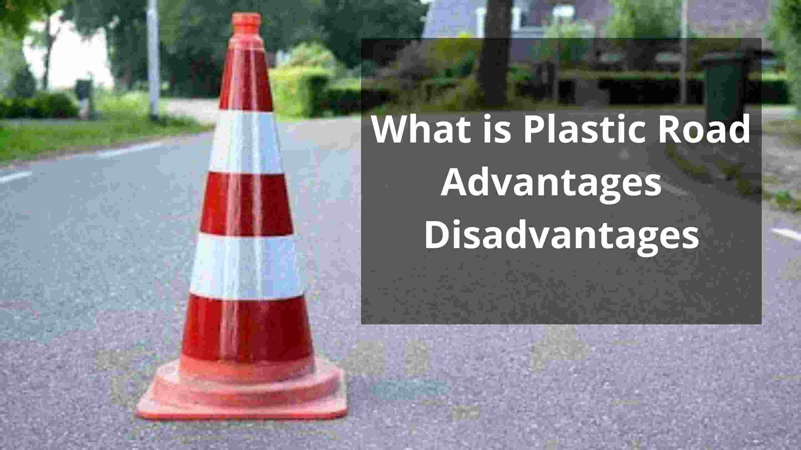 what is plastic road