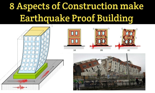 earthquake proof masonry construction