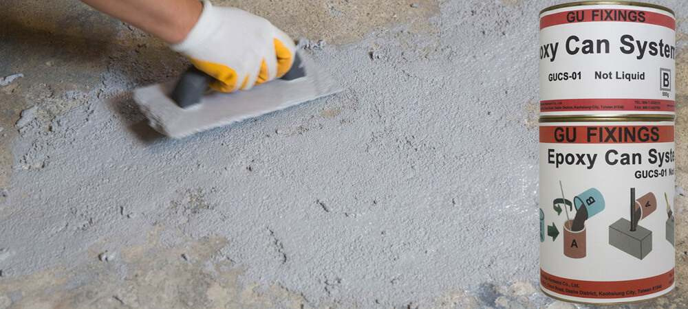 repairing of brick wall defects by epoxy mortar