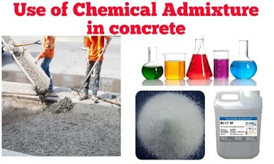 Chemical admixture used in concrete