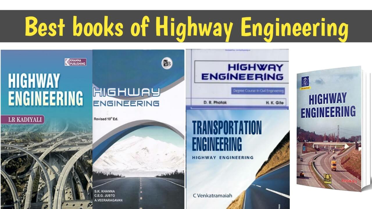 best books for highway engineering