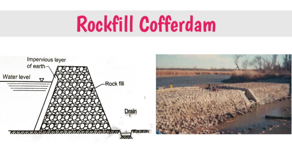 rockfill cofferdam images