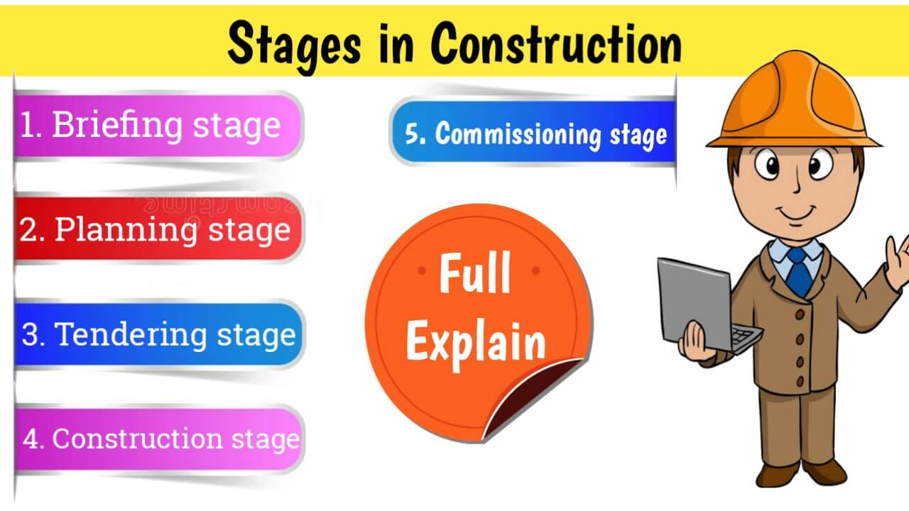 stages in construction