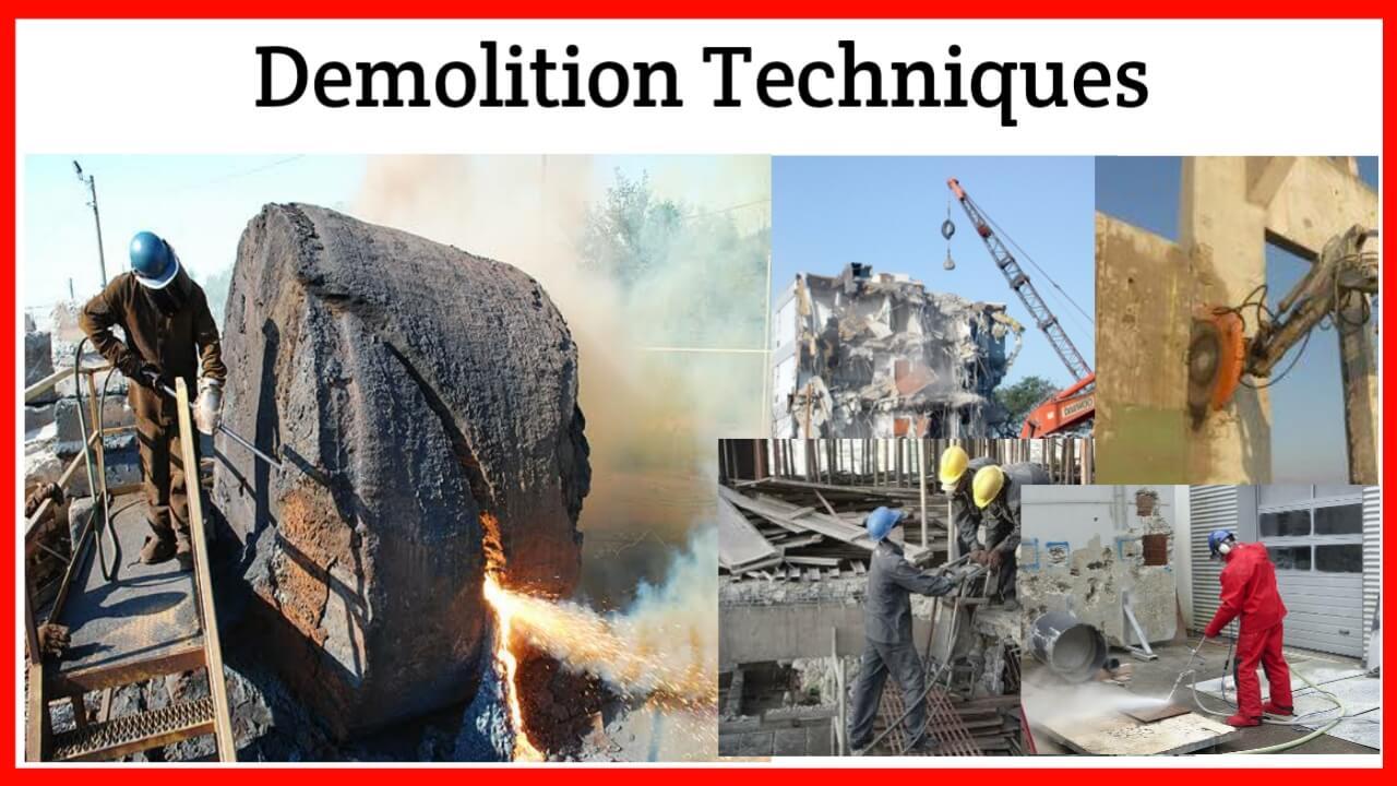 demolition techniques