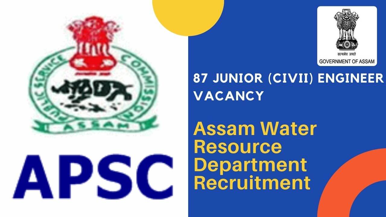 Assam water resource department recruitment