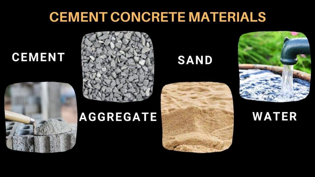 cement and concrete materials