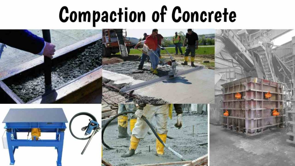 compaction of concrete