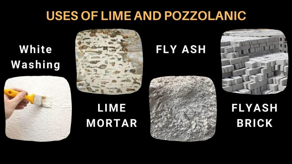 uses of lime and fly ash in construction