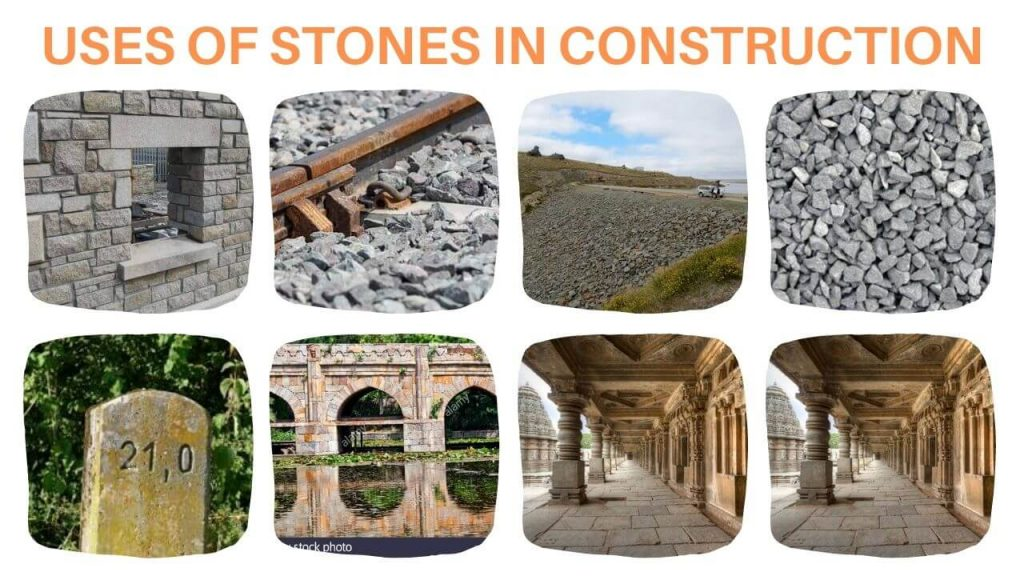 uses of stones in construction