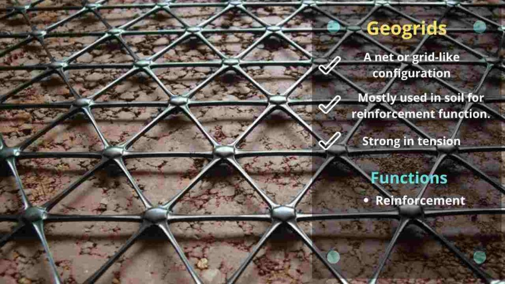 geogrids, function of geogrids
