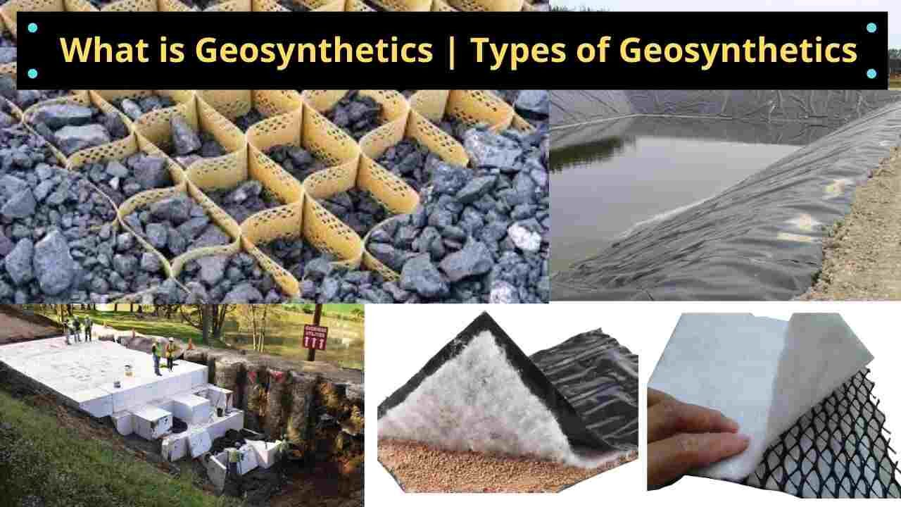 What is Geosynthetic | Types of Geosynthetics