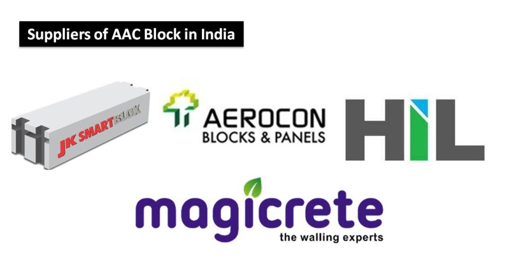best suppliers of aac blocks in india